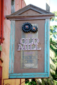 old mill sign